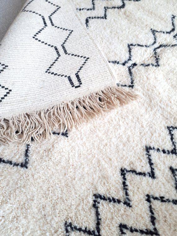 Berber Rug Carpet Wool Moroccan Rug Carpet Wool Rug Knotted At