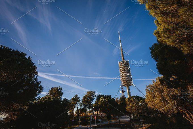 Communication Tower by OSORIOartist on @creativemarket