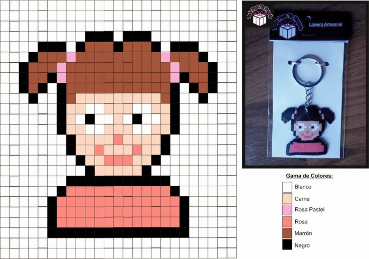 Boo Monsters Inc. Hama perler pattern - Diy Downloads