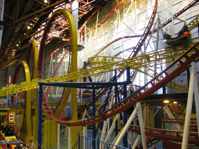 Edmonton Kids: Indoor Fun: West Edmonton Mall - GalaxyLand