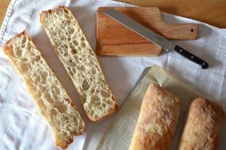 Pan de agua elaborada con batidora-amasadora BE-10