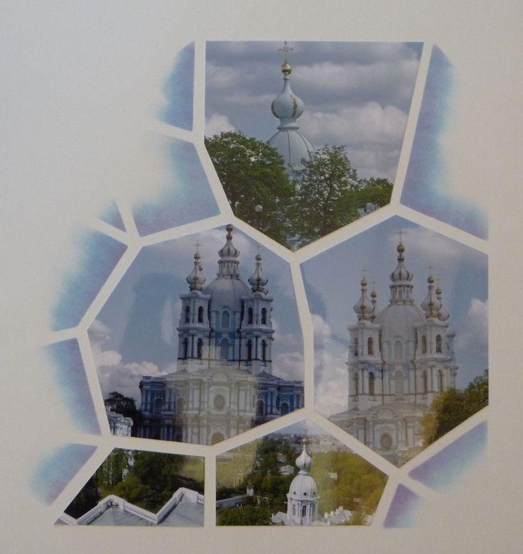 Gabarit Vitrail et jeu d'encres…. Saint Petersbourg !