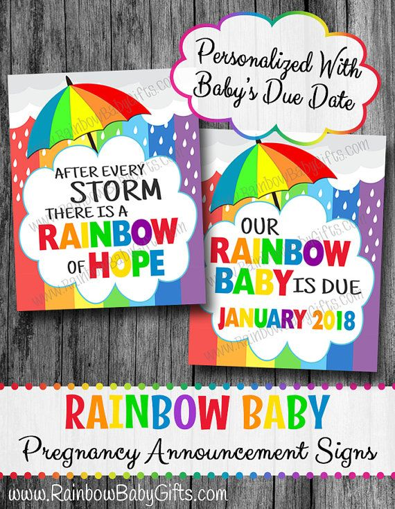 176 best Rainbow Baby Gifts images – Baby Announcement Party