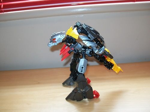 Hero Factory Transformers Dinobot Grimlock: A LEGO® creation by Harry Gordon : MOCpages.com