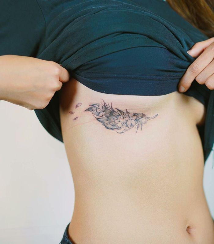 1001 Ideas Sobre Tatuajes De Plumas Con Encanto Tatuajes De Plumas Tatuajes Plumas Tatoo