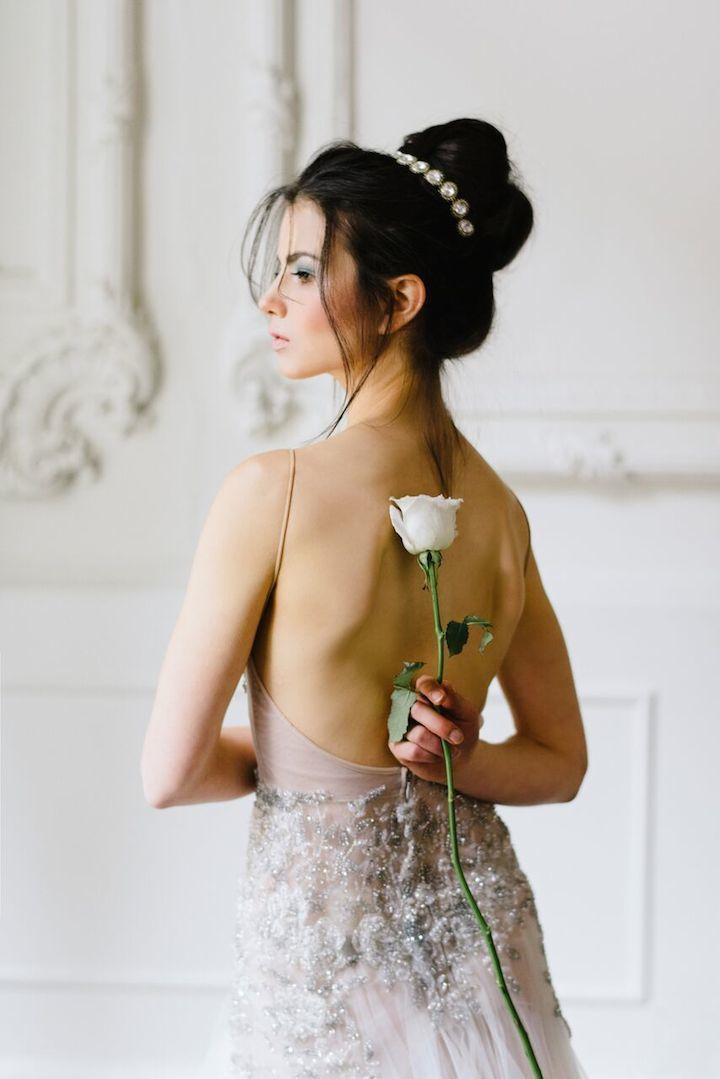 Featured Photographer: Mango Studios; Wedding hairstyle idea.