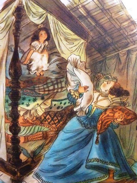Andersen, il. Szancer - księżniczka na ziarnku grochu