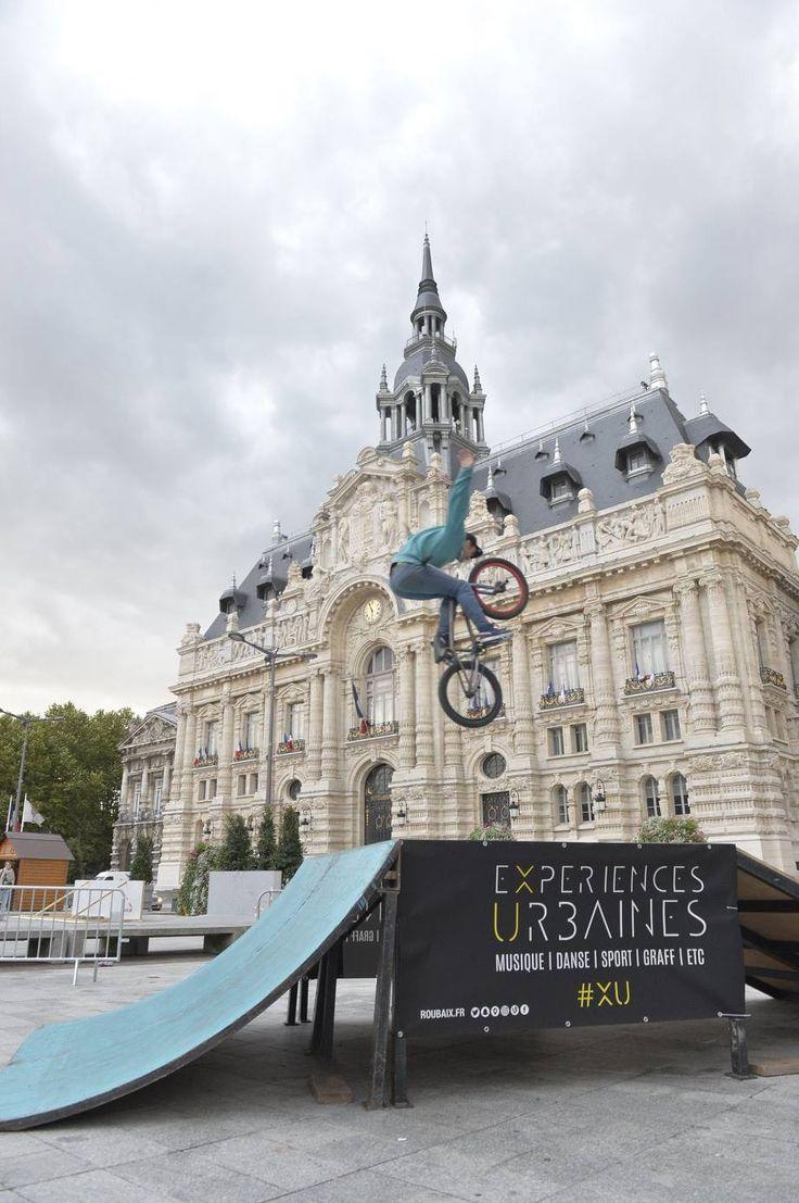 BMX sur la Grand'Place