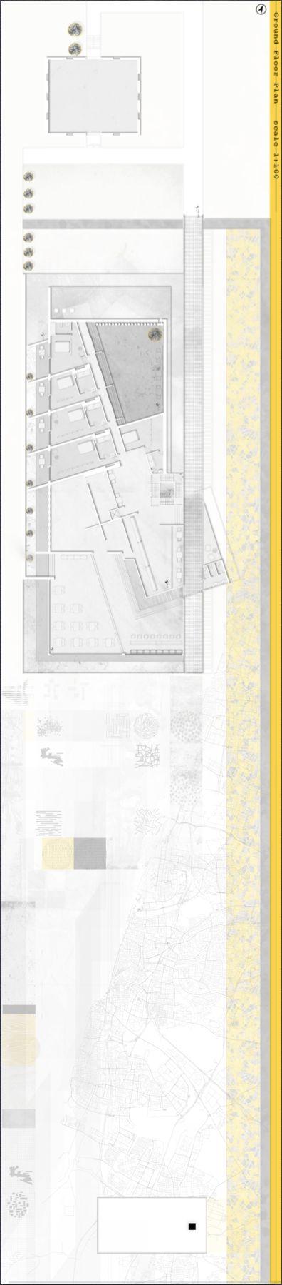 Chava Levin Architectural Studio, Ariel University year two.