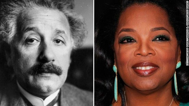 Oprah and Einstein photos offer clues about early dementia