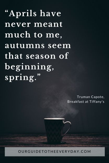 Welcoming Fall | Fall Quotes | October | Autumn | ourguidetotheeveryday.com