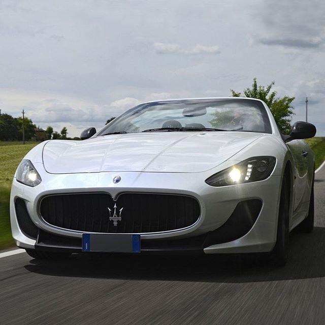 Let The #Trident Fire Your Passion. #Maserati #MaseratiGranCabrio  #GranCabrio