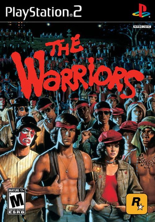 Warriors come out and play--- I love that line from the movie and the game is okay #fighting #gamers #retro