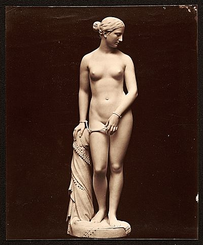 a paper on hiram powerss statue the greek slave Cincinnati sculptor hiram powers' masterpiece 'the greek slave' caused controversy when it came to the queen city in 1848.