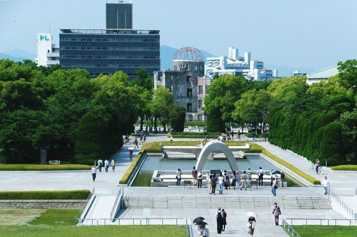 Hiroshima Peace Memorial Park, Japan