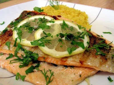 Trota alla griglia – quick and easy grilled trout