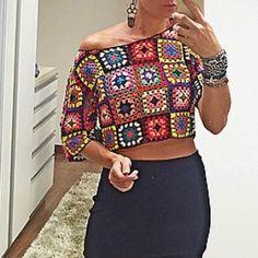 Ana Maria Braga usou essa blusa em seu programa, hoje:                    …