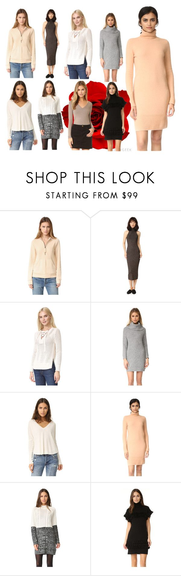 """""""tops great collection"""" by monica022 ❤ liked on Polyvore featuring Helmut Lang, A.L.C., 10 Crosby Derek Lam, cupcakes and cashmere, Alice + Olivia, Club Monaco, MINKPINK, Rachel Zoe, 525 America and vintage"""