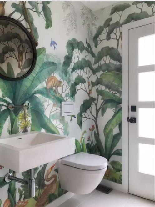 Jungle wallpaper mural in 2021 jungle wallpaper
