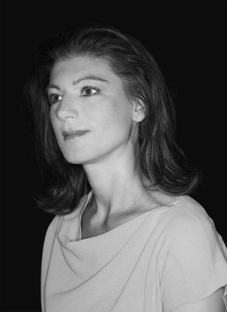 Sahra Wagenknecht, fotografiert von Joachim Baldauf für ZEIT ONLINE