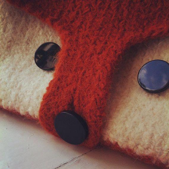 Felted Fox Bag by OwlPrintPanda on Etsy, £69.00