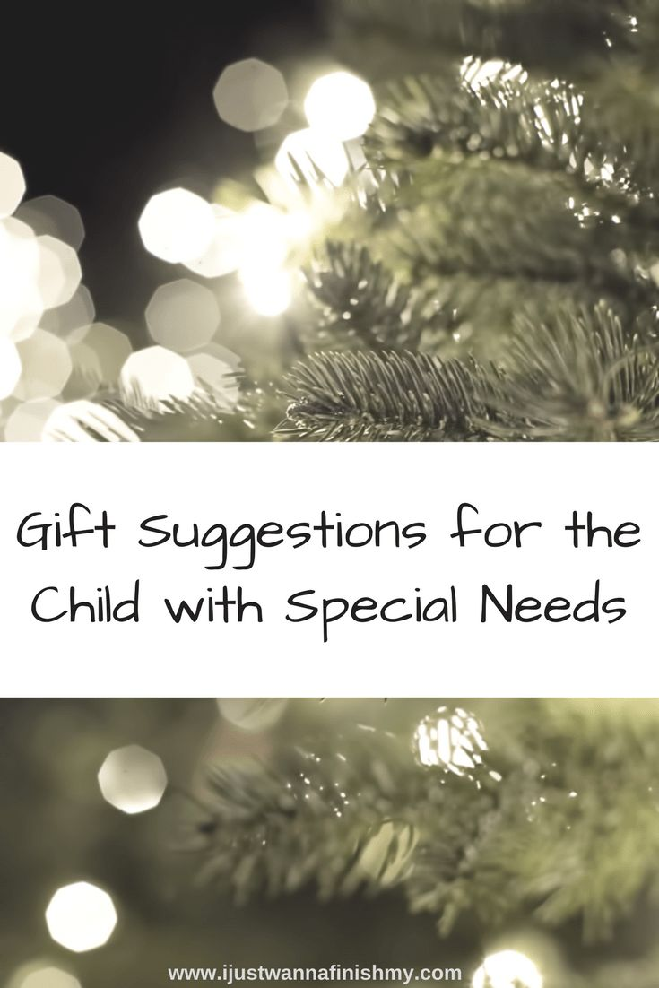 Gift suggestions for the child with special needs. Sensory, fine motor, low vision, imaginative play. Occupational therapy.