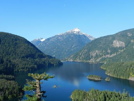 Diablo Lake by TravelMel1 on Trip Advisor, North Cascades National Park  off of Hwy 20