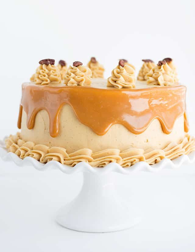 Carrot Cake With Caramel Buttercream What A Perfect Easter Dessert