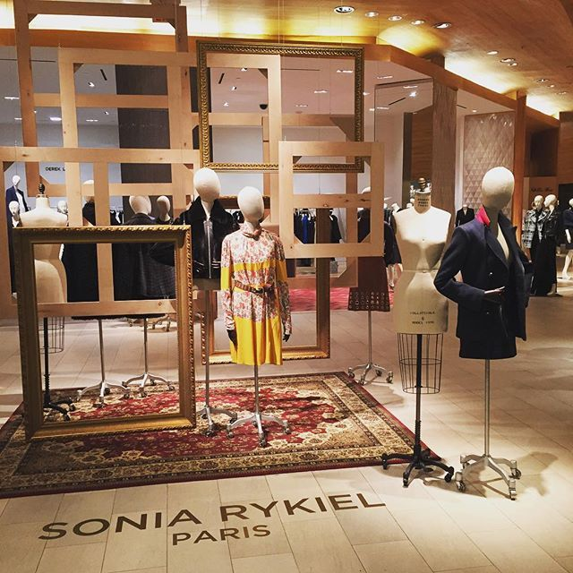 New @soniarykiel artistic director Julie de Libran refreshes the '70s icon. Discover the collection at #Saks!