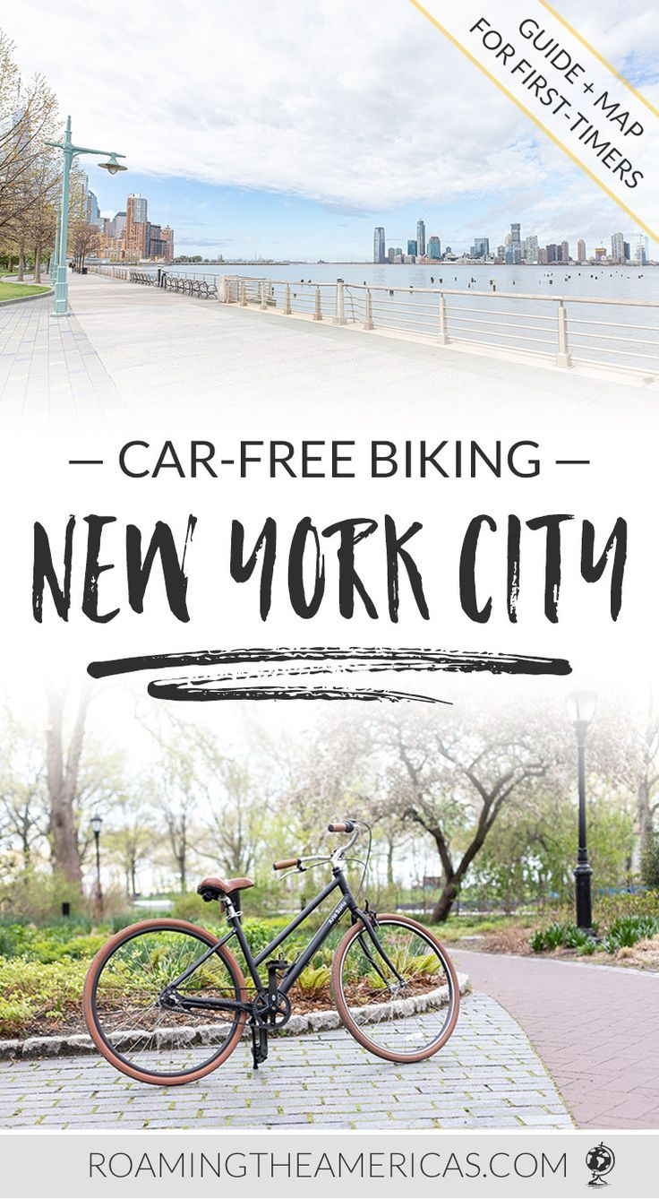 Car Free Nyc Bike Path Hudson River Greenway Biking Guide