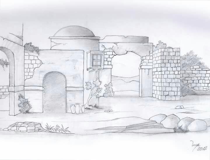 Mejores 427 im genes de belenes bocetos en pinterest - Dibujos de belenes ...
