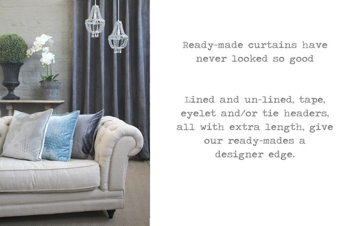 READY MADE CURTAINS NEW!!! : BIGGIE BEST