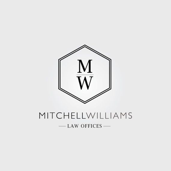 law firm logo editable adobe photoshop and illustrator files by spruce and willow. instant download