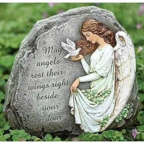May angels be with you!