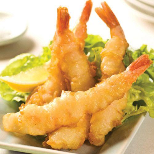 tempura   ... great. Coated in a Tempura batter graded at 26 - 30 prawns per Kg