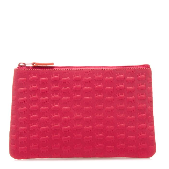 Ellie the Elephant candy pink zip wallet www.mywalit.com SS2015 #mywalititalianleather #thewalletyouneverforget