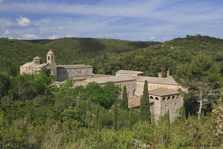 Abbaye de Fontfroide - Narbonne - Guide de tourisme de l\\'Aude, Languedoc Roussillon