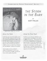 Teacher's Guide to The Storm in the Barn -- a graphic novel by Matt Phelan about the Dust Bowl and life in America during the 1930s