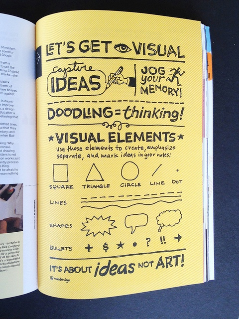 Build Magazine Illustrations from Sketchnote master Mike Rohde
