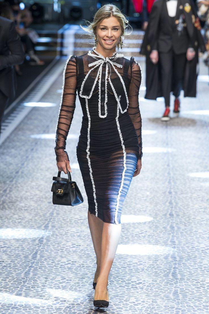 Grazielli Massafera for Dolce & Gabbana fw17