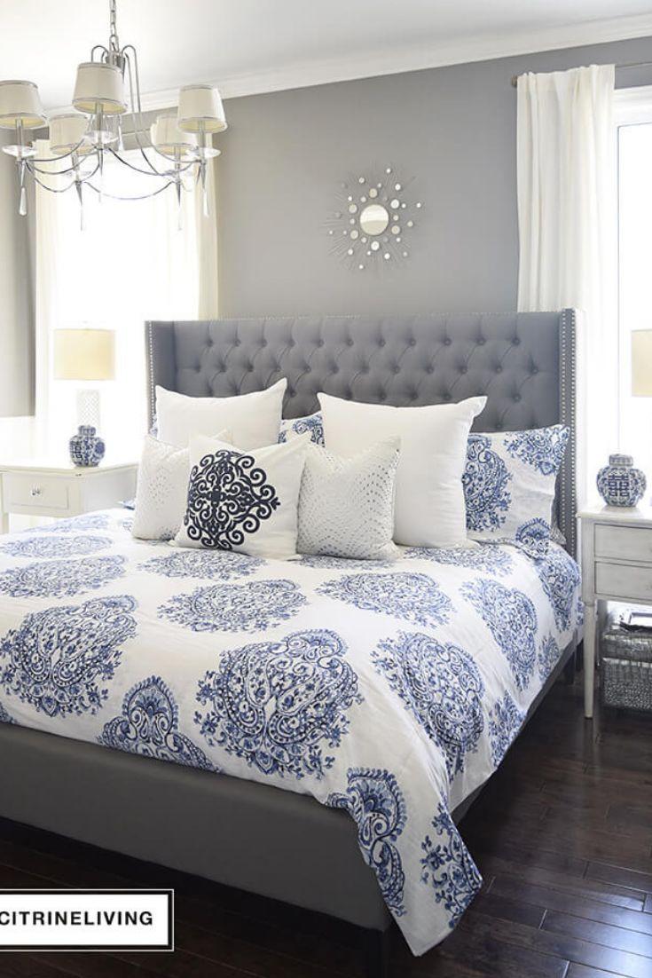 Best Grey Bedroom Ideas 2021 #Grey #Bedroom #GreyBedroom # ...
