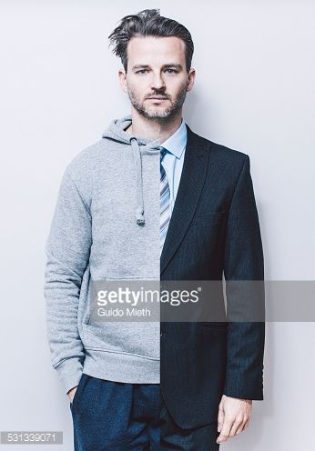 Stock Photo : Portrait of man,