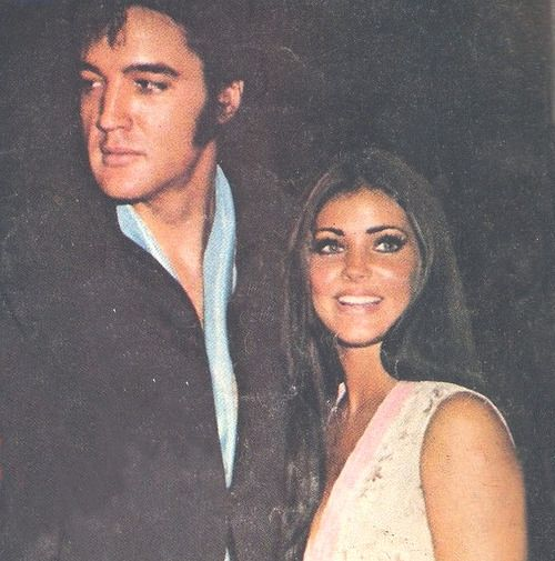 Elvis and Pricilla Presley