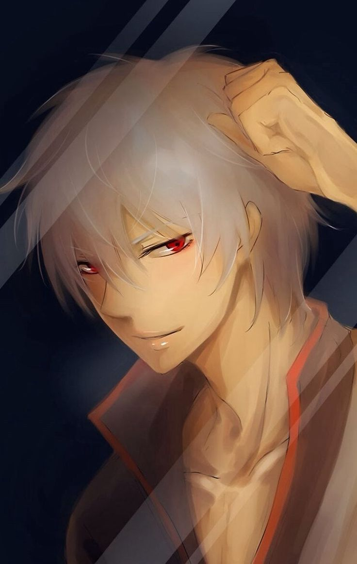 """Prussia from """"Hetalia.""""  This picture has a slightly spooky atmosphere about it to me.  Nice."""
