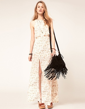 Free People Floral Maxi Dress: Floral Maxi
