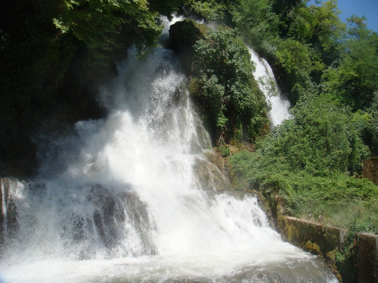 Edessa, Greece - Edessa waterfalls, so beautifull...I'f seen this a couple of times!