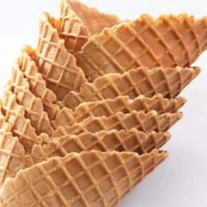 Homemade Waffle Cones Recipe from Grandmother's Kitchen