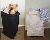 JUMBO de cestas de papel lavable / cestas de lavadero / lavable bolsas de papel