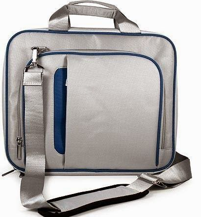 BLUE Airport Check-Point-Friendly High Quality Carrying Case Bag for Apple Macbook Pro 13-inch Notebook Laptop (+ 1pc Lost-n-Found ID Tag) ..... Best Seller on Amazon!