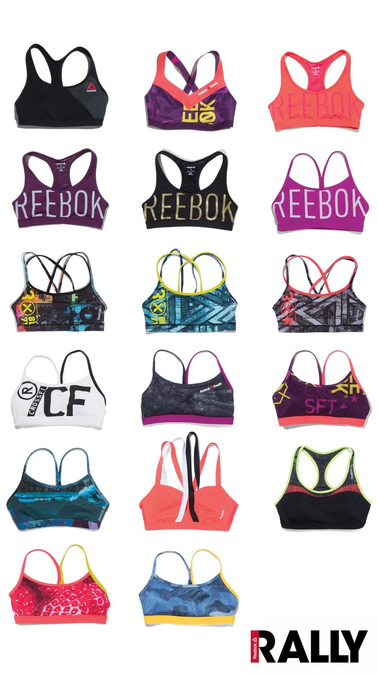 We've got your back this season. Literally. Check out Reebok Rally for our Fall collection of sports bras, designed for ultimate comfort and total durability through the toughest workouts. Just like you, they work damn hard and they look great in the process.
